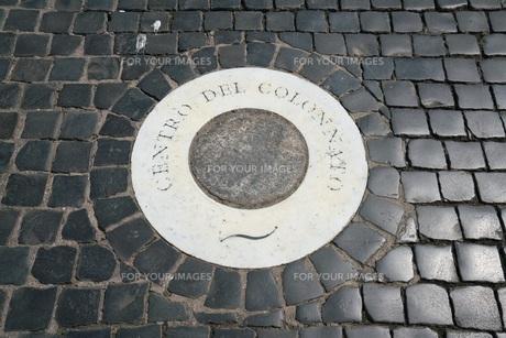 サン・ピエトロ広場の焦点の写真素材 [FYI01200310]