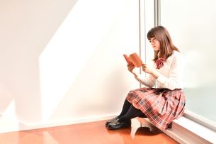 放課後の女子校生の写真素材 [FYI01200364]