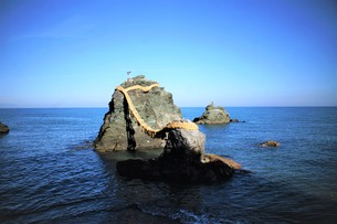 鳥羽二見浦の風景の写真素材 [FYI01200453]