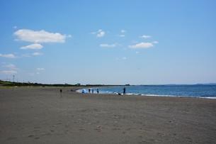 日本の風景 ・ 初夏の湘南ビーチの写真素材 [FYI01200501]