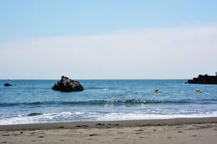 日本の風景 ・ 初夏の湘南ビーチの写真素材 [FYI01200502]