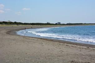日本の風景 ・ 初夏の湘南ビーチの写真素材 [FYI01200503]