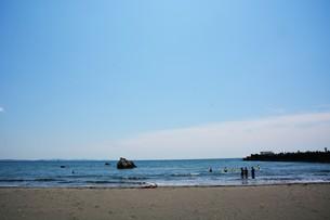 日本の風景 ・ 初夏の湘南ビーチの写真素材 [FYI01200504]