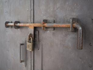 古い錠前の写真素材 [FYI01200510]