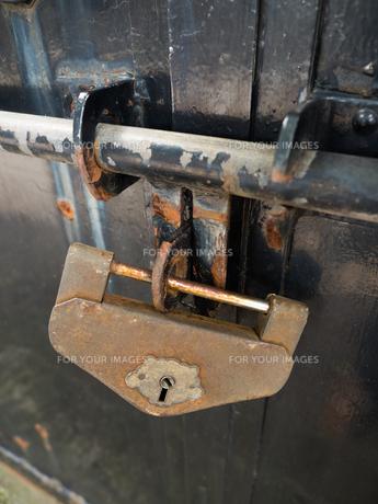 古い錠前の写真素材 [FYI01200512]