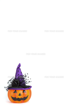 ハロウィンのカボチャ飾りの写真素材 [FYI01200590]