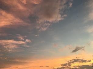 空のグラデーションの写真素材 [FYI01200946]