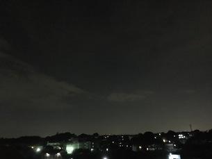 夜景 広い空の写真素材 [FYI01200951]