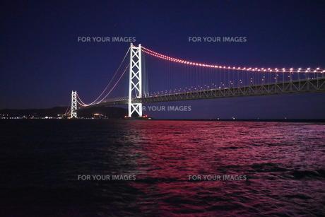 明石海峡大橋の写真素材 [FYI01201014]
