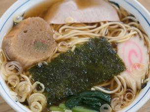 醤油ラーメンの写真素材 [FYI01201148]