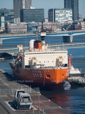 南極観測船 しらせの写真素材 [FYI01201151]