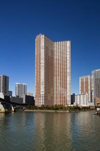 芝浦の高層マンション群の写真素材 [FYI01201158]