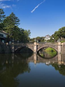 皇居 二重橋の写真素材 [FYI01201185]