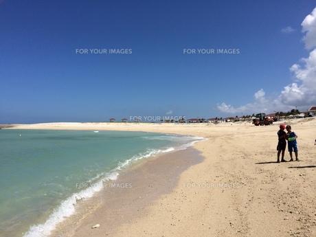 海の夏休みの写真素材 [FYI01201320]