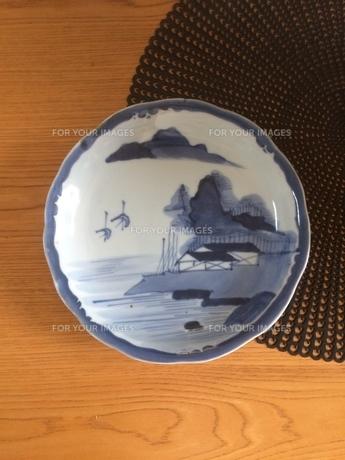 インテリア 古伊万里大皿の写真素材 [FYI01201321]