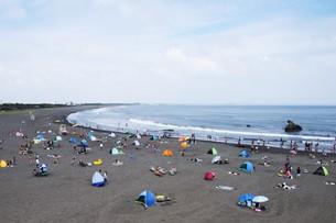 夏の思い出 湘南ビーチの写真素材 [FYI01201398]