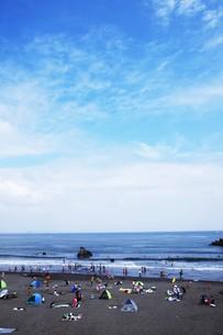 夏の思い出 湘南ビーチの写真素材 [FYI01201399]
