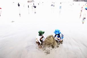 夏の思い出 湘南ビーチの写真素材 [FYI01201402]