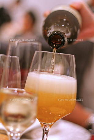 ビールの写真素材 [FYI01201462]