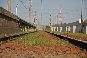 線路の写真素材 [FYI01201503]
