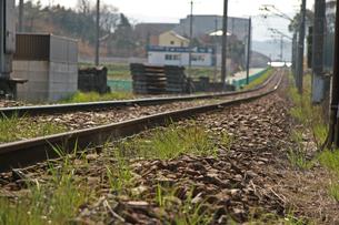 線路の写真素材 [FYI01201505]