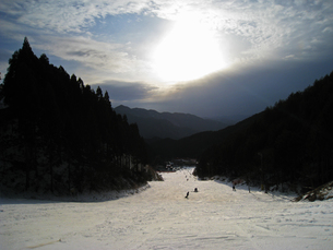 スキー場の写真素材 [FYI01201546]
