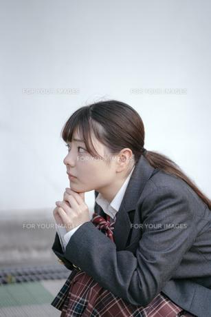 青山裕企講師による撮影実習・セミナー ~みんなでつくる「スクールガール・コレクション」の写真素材 [FYI01201554]