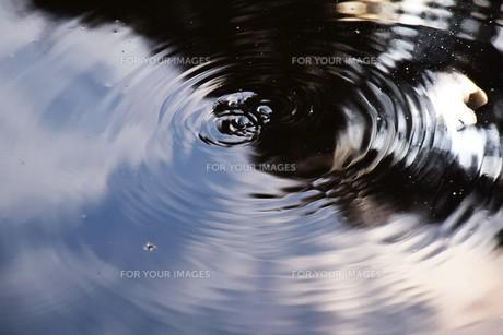 水の抽象の写真素材 [FYI01201576]