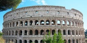 ローマ コロッセウムの写真素材 [FYI01201751]
