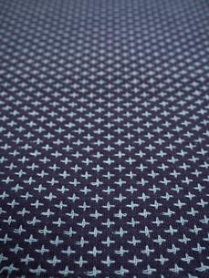 刺し子の布の写真素材 [FYI01201949]