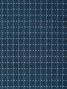 刺し子の布の写真素材 [FYI01201952]