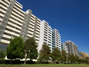 幕張の高層マンション街の写真素材 [FYI01201975]