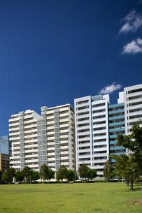 幕張の高層マンション街の写真素材 [FYI01201977]