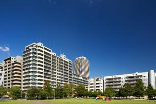 幕張の高層マンション街の写真素材 [FYI01201979]