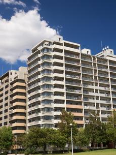 幕張の高層マンション街の写真素材 [FYI01201983]