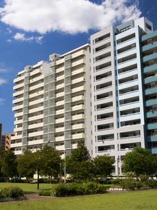 幕張の高層マンション街の写真素材 [FYI01201985]