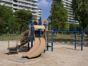 公園の遊具の写真素材 [FYI01202031]