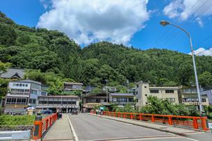 宝珠橋から山寺を望むの写真素材 [FYI01202174]