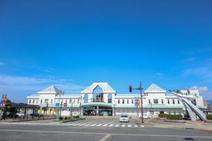 米沢駅駅舎の写真素材 [FYI01202176]