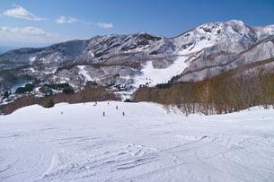 スキー場の写真素材 [FYI01202262]