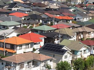 住宅街の写真素材 [FYI01202363]