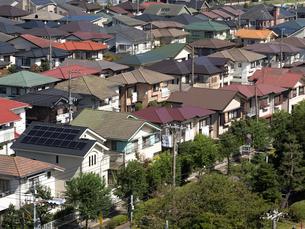 住宅街の写真素材 [FYI01202365]