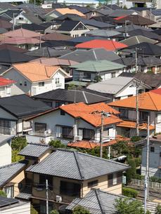 住宅街の写真素材 [FYI01202373]