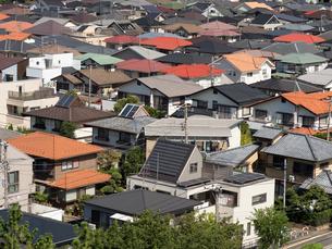 住宅街の写真素材 [FYI01202375]