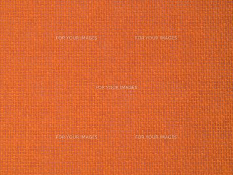 オレンジ色の織物の写真素材 [FYI01202419]