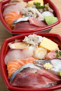 海鮮丼の写真素材 [FYI01202424]