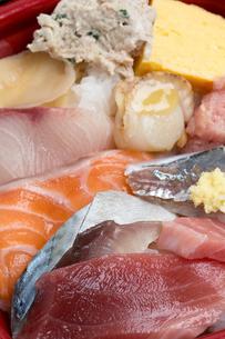 海鮮丼の写真素材 [FYI01202425]