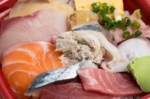 海鮮丼の写真素材 [FYI01202426]
