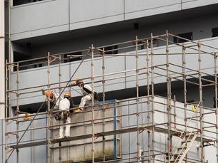 ビルの改修工事の写真素材 [FYI01202483]
