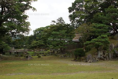 彦根城楽々園の写真素材 [FYI01202803]